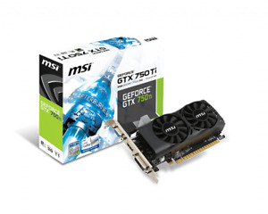 MSI Geforce GTX 750 Ti Low Profile Graphic Cards