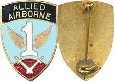 1° ALLIED AIRBORNE, (1° R.C.P. 1944 1945) verrou pivotant, clair, Sans (3847)