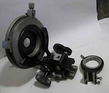 LOMO POLARIZATION microscope MIN 8 rotate stage with support of condenser part