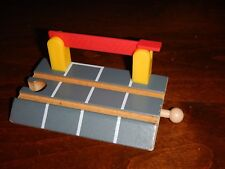 "Thomas Wooden Railway 4"" Wooden CROSSING GATE"