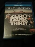 Zero Dark Thirty (Blu-ray/DVD, 2013, 2-Disc Set)