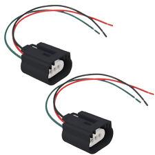 Wire Pigtail Female Ceramic 9008 H13 Headlight Two Harness Bulb Plug Repair Lamp