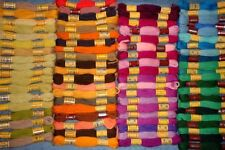 79 Skeins DMC Floralia Wool 3ply Persian Needlepoint Crewel Embroidery Yarn Lot