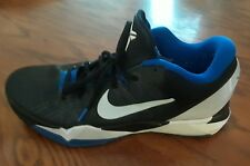 Nike Zoom Kobe VII 7 Treasure Duke blue black mens shoes size 14