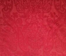 Christmas Ralph Lauren Red Tablecloth Round 70 In /178 Cm Seater 4-6