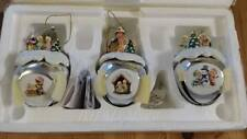 2007 Precious Moments Sleigh Bells Ornaments Set #4 Time For Play Ashton Drake