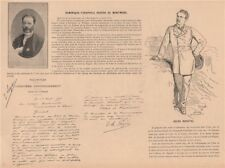 PARIS COMMUNE 1871. Jules Ducatel; Dominique-Théophile Regère de Montmore c1873