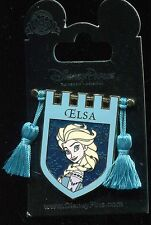 Princess Tapestry Elsa Frozen Banner Tassel Disney Pin