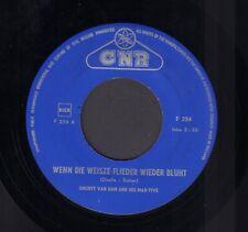 """SHORTY VAN DAM – Wenn Die Weisze Flieder Wieder Blüht (RARE 1961 DUTCH JAZZ 7"""")"""