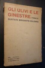 G. BRIGANTE COLONNA - GLI ULIVI E LE GINESTRE