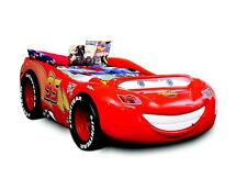 Race Car Car Bed With Mattress Kid's Bed With LED Car Bed Mcqueen Disney Cars
