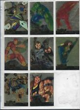 Marvel Metal 1995 Inaugural Gold Blaster Cards U-PICK ONE (8 cards available)