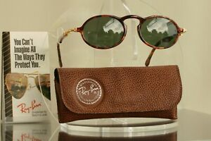 Excellent: Bausch & Lomb Ray Ban USA Gatsby DLX W1524 Gold Tortoise,  BL Vintage