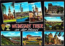 Weinstadt Trier an der Mosel ,AK 1972 gel.