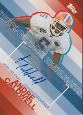 Andre Caldwell 2006 Topps Performance Highlights auto autograph card THA-AC
