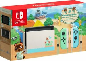 Nintendo Switch - HAC-001(-01) Animal Crossing: New Horizon - Special Edition