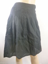 Atmosphere Knee Length Patternless A-line Skirts for Women
