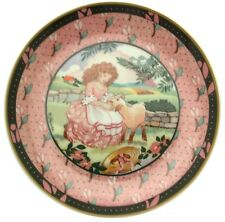 Heinrich Once Upon a Rhyme Mary Had a Little Lamb Plate Nursery Wall Plates