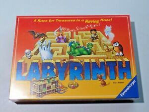 Ravensburger Labyrinth Game A Race for Treasure Moving Maze NEW Sealed 2007