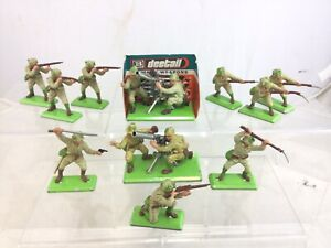 Lot Vintage Britains Deetails WWII Japanese Infantry Recoilless Rifle