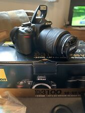 Nikon D3100 Digital SLR Camera - Black (Full kit with VR 18-55mm Lens)