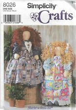 "Simplicity Crafts Pattern #8026-Sharin A Little Bit-36"" Doll & Clothes"