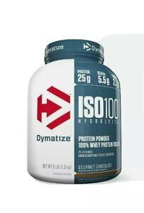 Dymatize ISO100 Gourmet Chocolate 5 LB. protein powder