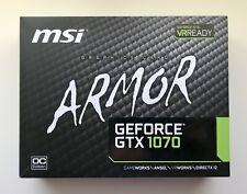 MSI NVIDIA NVIDIA GeForce GTX 1070 8GB GDDR5 Graphics Card OC