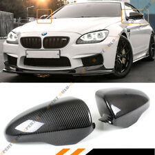 DIRECT ADD ON CARBON FIBER SIDE MIRROR COVERS CAP FOR 2012-15 BMW F06 F12 F13 M6
