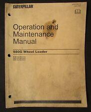 Caterpillar Cat 980G Wheel Loader Operation and Maintenance Manual Sebu6946 09