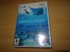 Endless Ocean Wii NEW and Sealed Nintendo Wii pal