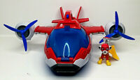 PAW PATROL AIR PATROLLER PLANE WITH LIGHT AND SOUND PLUS FIGURE