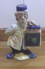 Miniature ceramic ITALIAN hologram bottle DRIOLI 3