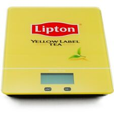 Digital Kitchen Scale 5kg Tempered Glass Platform Lipton Tea Logo Printed