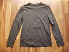 @ H&M @ Shirt langarm grau Mann Size S Crewneck Regular Fit NEU