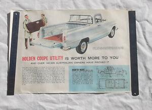 Old Poster of FB or EK Holden Utility GMH Ute