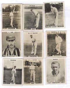 9 Godfrey Phillips Pinnace Cricketers