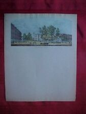 BOWLING GREEN, OH. - Early Color Litho. Lettersheet - Chas. Magnus - 1850-60's
