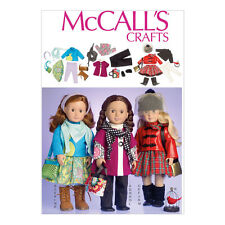 "McCall's Sewing Pattern | M7006 | Clothes For 18"" Doll 