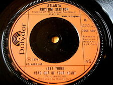 "ATLANTA RHYTHM SECTION - GET YOUR HEAD OUT OF YOUR HEART      7"" VINYL"