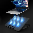 """Upgrade Laptop Cooling Pad Slim Stand Notebook PC Quiet Cooler 6 Fan for 12""""-18"""""""