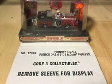 Code 3 Princeton Pierce Dash Side Mount Pumper12894