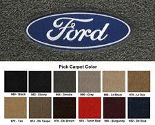 Lloyd Mats Ford F-150 Velourtex Ford Logo Front Floor Mats (1975-2001)