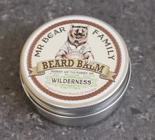 Il signor ORSO barba Balsamo Wilderness Beards Capelli Balsamo Olio Naturale 60ml TIN