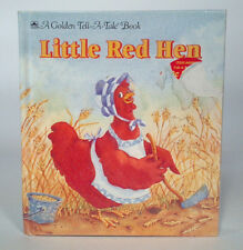 Vintage 1993 Golden Tell A Tale Book The Little Red Hen