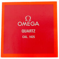 OMEGA QUARTZ CAL. 1425 OPERATING INSTRUCTIONS BOOKLET