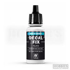 Vallejo Decal Fix Acrylic Resin Based Solution Model Air 73.213