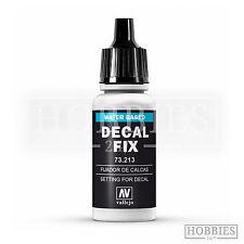 Vallejo DECAL FIX resina acrilica a base di soluzione Model Air 73.213