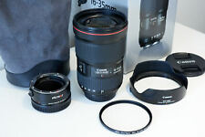 Canon EF 16-35mm f/2.8L III USM Lens Ultra Wide Zoom. Immaculate. EF-RF Adapter