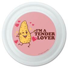 "I'm a Tender Lover Chicken Nugget Funny Humor Novelty 9"" Flying Disc"